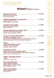 La Vecchia Pesa Luino menù-Antipasti