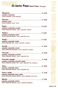 La Vecchia Pesa Luino- pizze