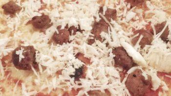 Pizza Boscaiola porcini La Vecchia Pesa Luino