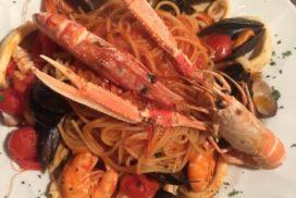 Spaghetti allo scoglio La Vecchia Pesa Luino